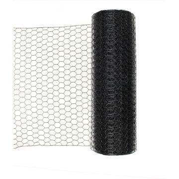 Wire Flight Pen Fencing - 1 Inch Hex PVC Coated Galvanized