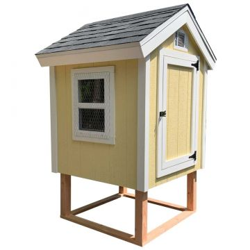 4x4 Comfy Coop Cube Digital Building Plans (5 - 8 chickens)