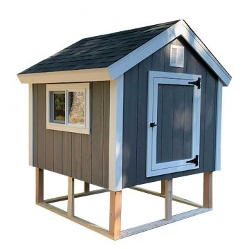 6x6 Comfy Chicken Coop Digital Building Plans (12 - 18 chickens)