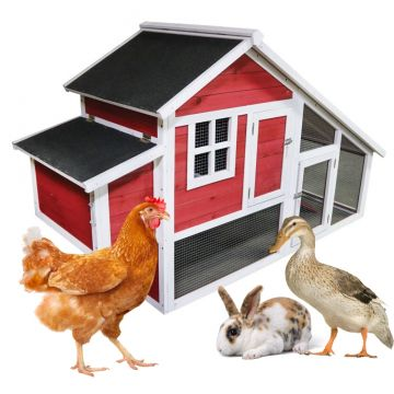 """Egg Hut"" Chicken Wooden Coop (up to 3 chickens)"