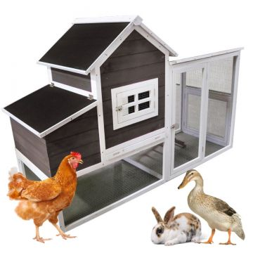 """Hen House"" Chicken Coop with Run (2-3 chickens)"