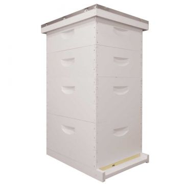 10 Frame Traditional Growing Apiary Kit - Wood Frames - Painted