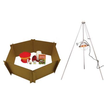 Baby Chick Starter Kit With 250 Watt Heat Bulb and Lampstand