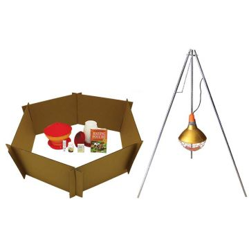 Baby Chick Starter Kit With 600 Watt Heat Bulb and Lampstand