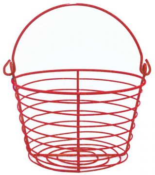 Small Egg Basket - Red
