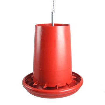 Feed Saving Plastic Hanging Feeder - 20 Pounds