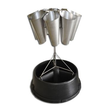 Killing Cone Stand - With Broiler Cones