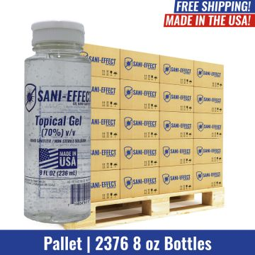 Gel Hand Sanitizer - 8 oz - Pallet Qty