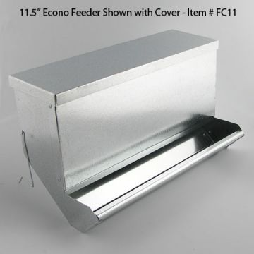 Feeder Cover - Econo and Fine-X  11 1/2 Inch