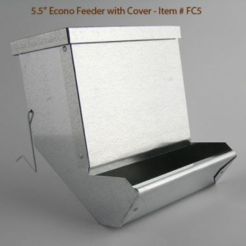 Feeder Cover - Econo and Fine-X 5 1/2""
