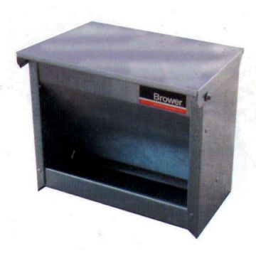 Covered Feeder for Poultry