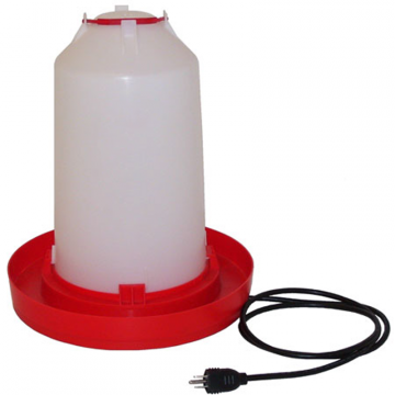 3 Gallon Fount With Heated Base