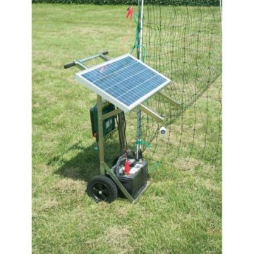 Solar Power Panel Energizer and Dolly Kit