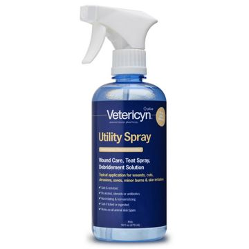 Vetericyn Plus Utility Spray 16 Ounces