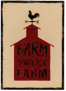 Farm Sweet Farm Vintage Sign