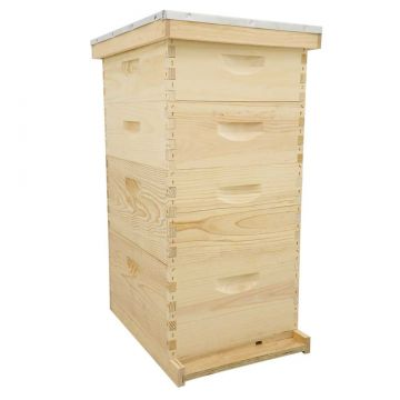 10 Frame Traditional Growing Apiary Kit - Wood Frames