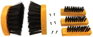 Scrusher Big Boot Replacement Brushes