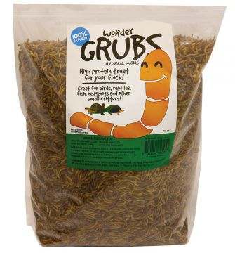 5 lb - Wonder Grubs Dried Mealworms