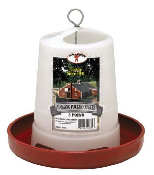 Hanging Baby Chick 3 lb Feeder