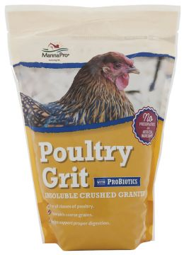 Poultry Grit with ProBiotics - 5 lbs
