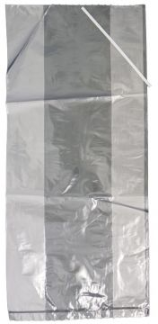 100 Pack Poultry Bags with Ties 12x8x24 -  Small Turkeys and Turkey Hens