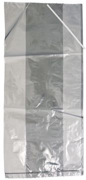100 Pack Poultry Bags with Ties - 8x4x18 - Capons and Fryers