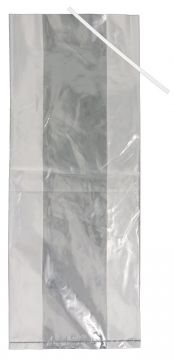 100 Pack Poultry Bags with Ties 6x3x15 - Smaller Birds