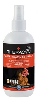 Theracyn Poultry Wound Spray - 8 oz